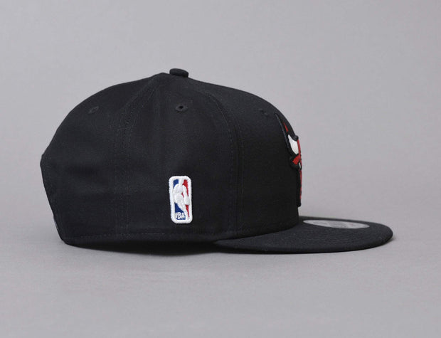 Chicago Bulls Cap Black 9FIFTY Base