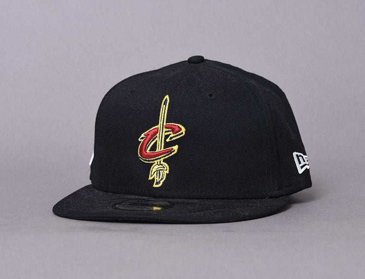 Cap Snapback 9FIFTY Black Base Cleveland Cavaliers New Era