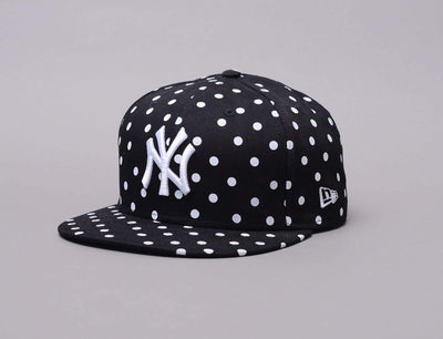 Cap Snapback MLB 9fifty Spotted Spring NY Yankees Womens New Era 9FIFTY Womens / Black / One Size