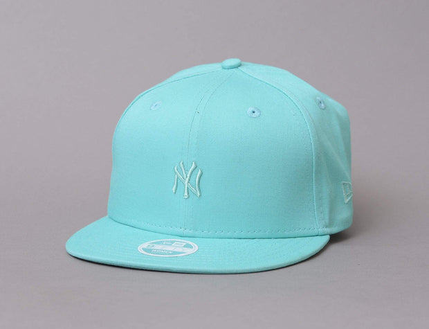 Womens 9FIFTY Pastel NY Yankees Bright Turquise