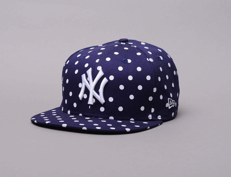 Cap Snapback MLB 9fifty Spotted Spring NY Yankees New Era 9FIFTY Womens / Blue / One Size