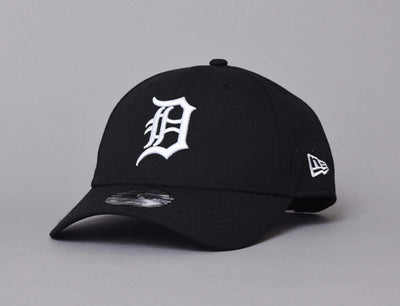Cap Adjustable 9FORTY Poly Perf Detroit Tigers Black New Era 9FORTY / Black / One Size