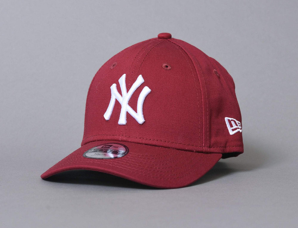 9FORTY Kids League Essential NY Yankees Cardinal/White