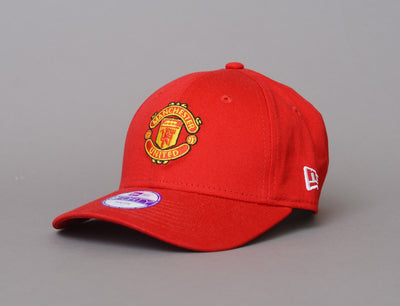 Kids 9Forty Basic Manchester United Scarlet