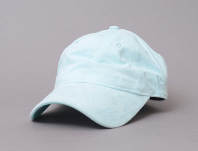 Cap Adjustable Womens 9Forty Soft Suede Teal Breeze New Era 9FORTY Womens / Blue / One Size