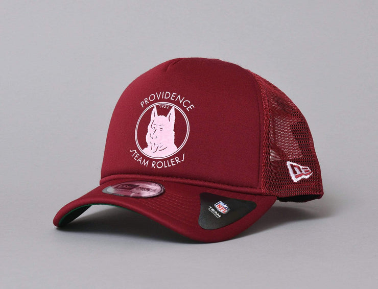 Cap Adjustable 9FORTY A-Frame Trucker Providence Steamroller New Era 9FORTY A-Frame Trucker / Red / One Size