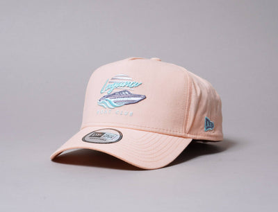 Cap Adjustable 9FORTY A-Frame Trucker NE Beach Pink New Era 9FORTY AFRAME / Pink / One Size