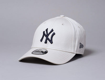 Cap Adjustable Adjustable Cap NY Yankees Stone 9FORTY League Essential New Era 9FORTY / Beige / One Size