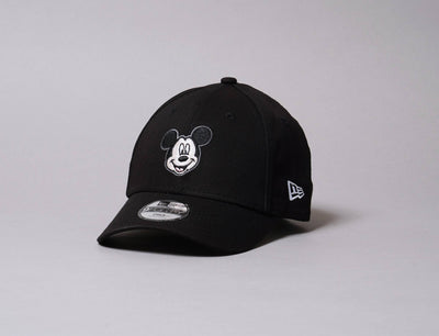 Cap Adjustable Kids 9FORTY Disney Character Mickey Mouse Black New Era 9FORTY / Black / Child