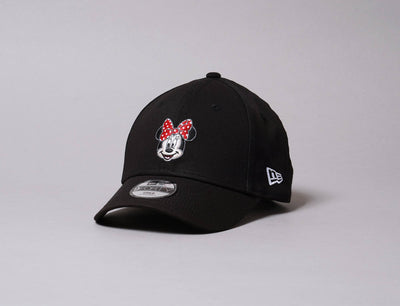 Cap Adjustable Kids 9FORTY Disney Character Minnie Mouse Black New Era 9FORTY / Black / Child