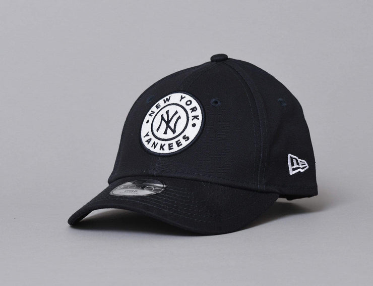 Cap Kids 9FORTY Kids Circle Patch NY Yankees Navy New Era