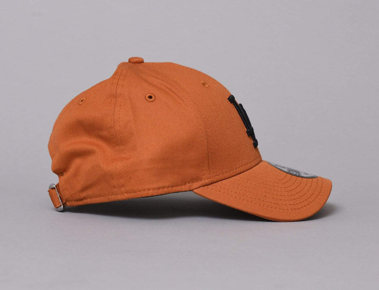 Cap Adjustable 9FORTY League Essential LA Dodgers Rust/Black New Era 9FORTY / Orange / One Size