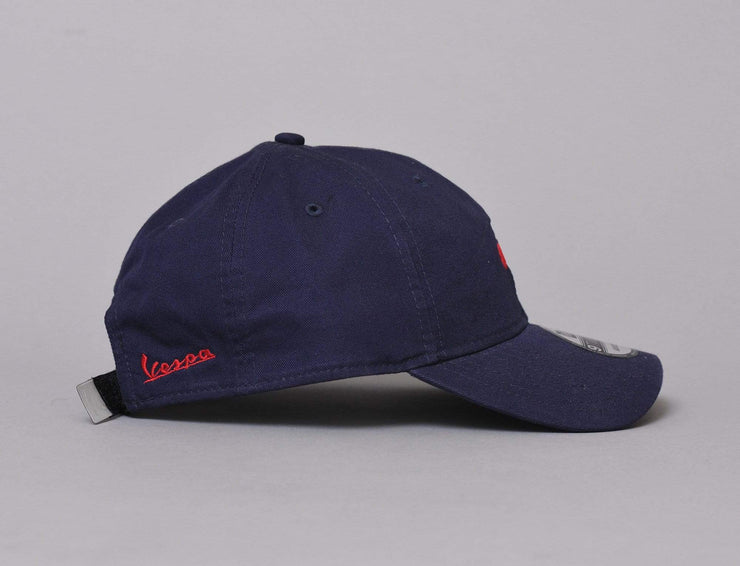 Cap Adjustable 9TWENTY Vespa Mini Logo Navy New Era 9TWENTY / Blue / One Size