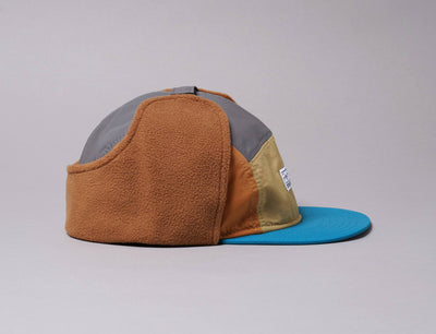 Cap Dogear Micro Fleece Dogear Camper Korea Collection Brown New Era