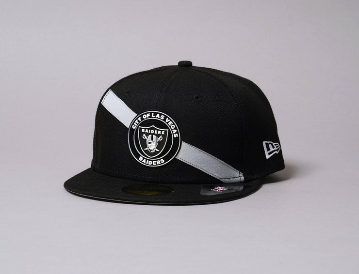 Cap Fitted 59FIFTY Stripe Las Vegas Raiders New Era