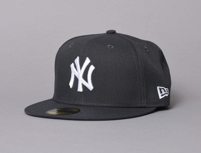 MLB Basic 59FIFTY NY Yankees Grey/White