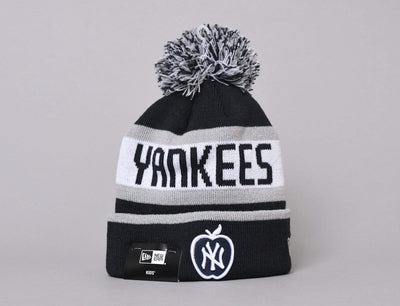 Cap Kids MLB Kids Booble Knit The Jake Apple Navy New Era Kids Bobble Knit / Blue / Youth