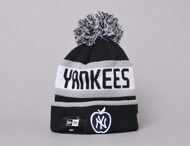 MLB Kids Booble Knit The Jake Apple Navy
