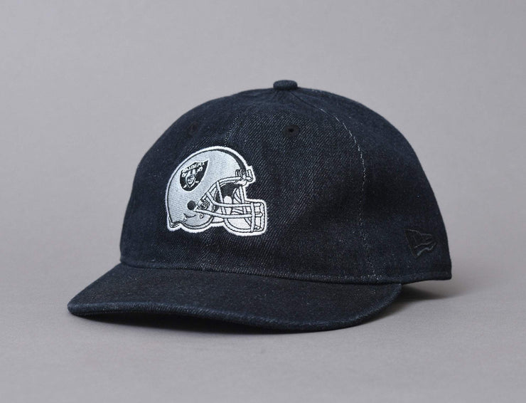 Cap Fitted 9FIFTY Low Profile NFL Team Helmet Oakland Raiders New Era