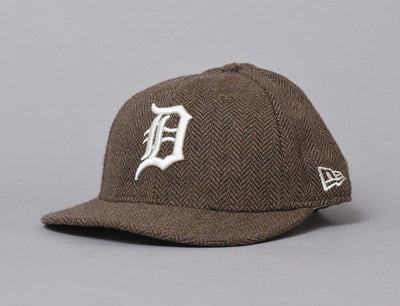 Cap Snapback 9FIFTY MLB Tweed Detroit Tigers Old Gold/Off White New Era