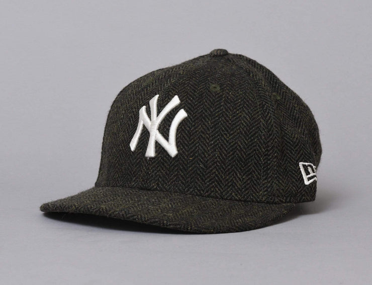 Cap Snapback 9FIFTY MLB Tweed NY Yankees Athletic Green/Off White New Era