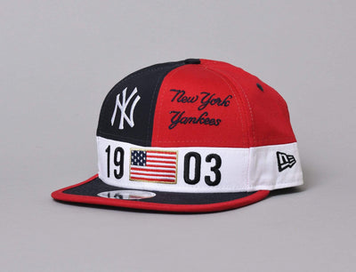 9FIFTY Original Fit Colour Block League NY Yankees Scarlet/Navy/White