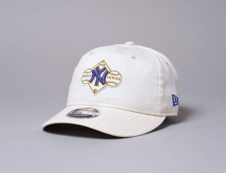 Cap Snapback 9FIFTY Retro Crown Coopertown NY Yankees Off-White New Era