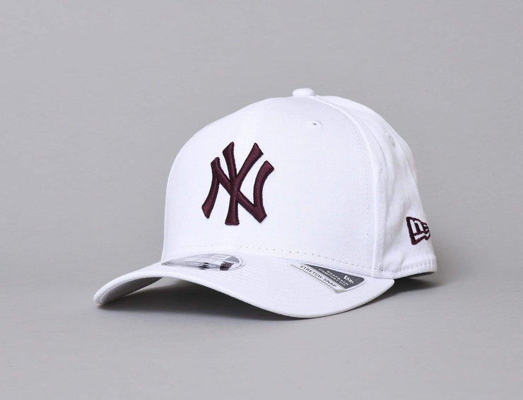 9FIFTY Stretch-Snap League Essential NY Yankees White/Maroon