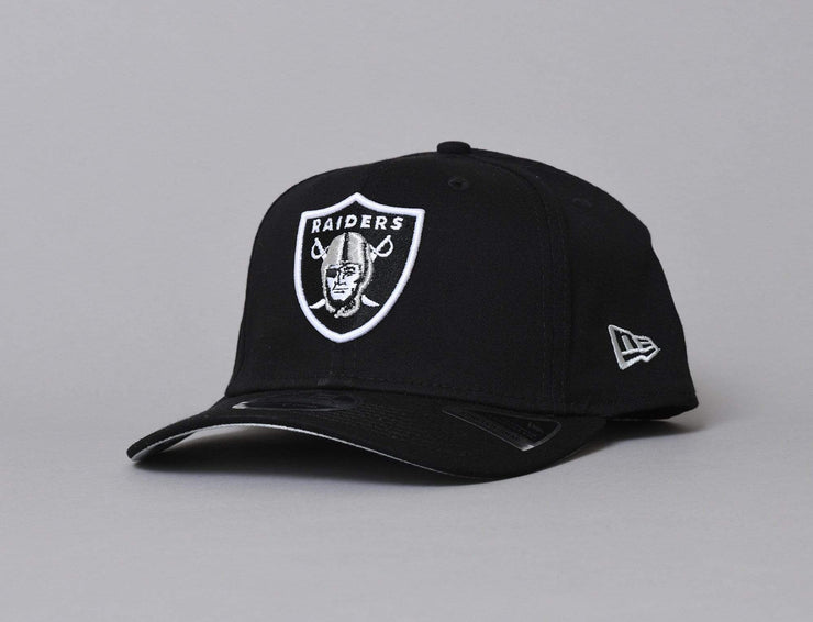 Oakland Raiders Cap Black 9FIFTY Stretch-Snap Team