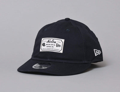 Retro Crown 9FIFTY New Era Vintage Patch Navy