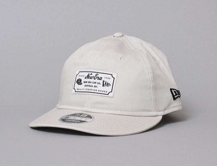 Cap Snapback Retro Crown 9FIFTY New Era Vintage Patch Stone New Era