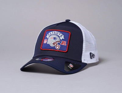 Cap Trucker 9FORTY Wordmark Trucker New England Patriots New Era 9FORTY A-Frame Trucker / Team / One Size