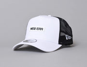 9FORTY A-Frame Trucker Cap NE Essential White/Black