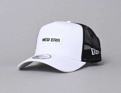 Cap Trucker 9FORTY A-Frame Trucker Cap NE Essential White/Black New Era 9FORTY A-Frame Trucker / White / One Size