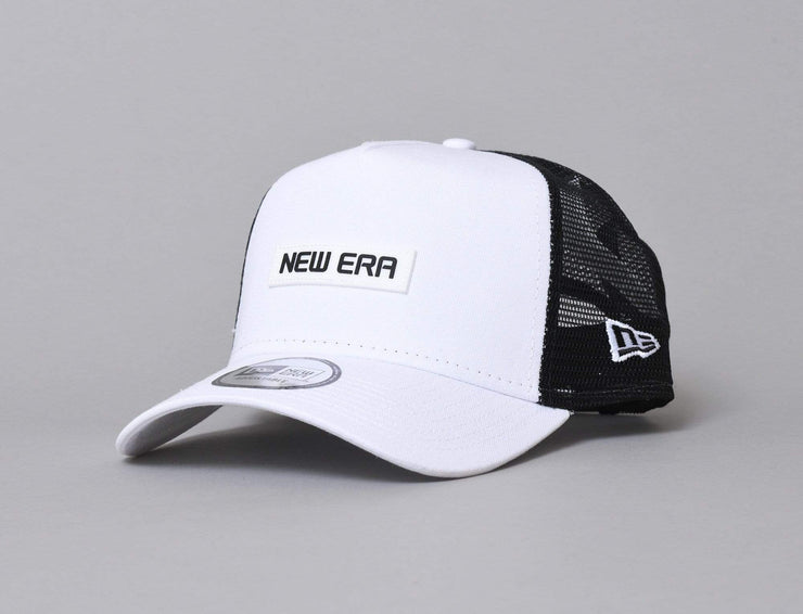 9FORTY A-Frame Trucker NE Essential White/Black