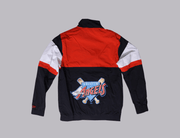 MLB Coast To Coast Track Jacket Anaheim Angels