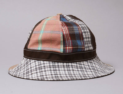 Hat Bucket Explorer Bucket Hat Korea Collection Check Block Brown New Era