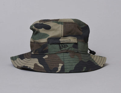 NE Adventure Dogear Bucket Hat Camo