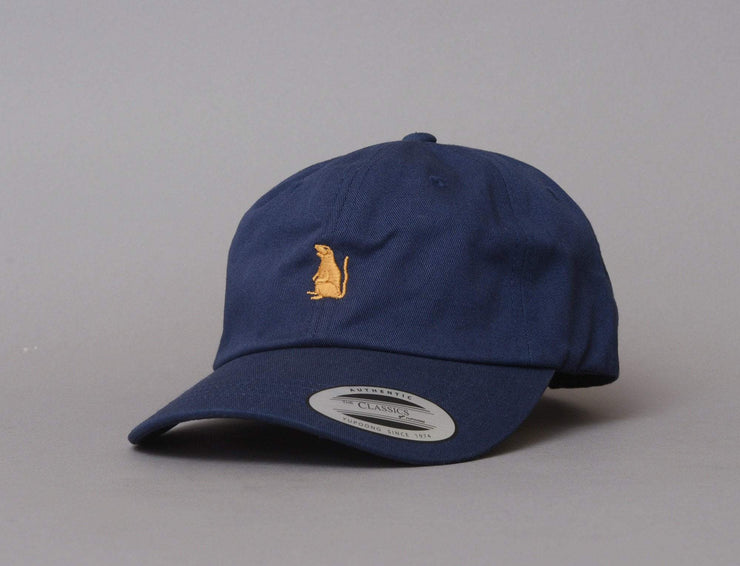 Cap Adjustable Oslo Rats - Dad Small Rat - Navy/Gold Oslo Rats Adjustable Cap Cap / Blue / One Size