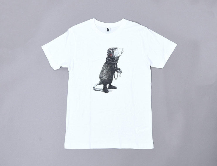 Clothing Tee Burger King Rat Tee White Oslo Rats