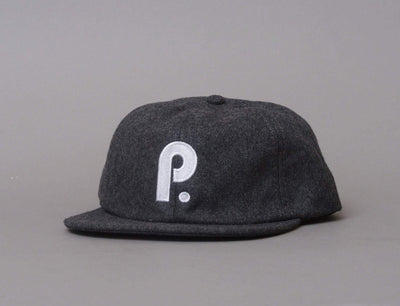Cap Adjustable Paterson Brushed Wool Club Hat, Charcoal Paterson League Adjustable Cap Cap / Grey / One Size