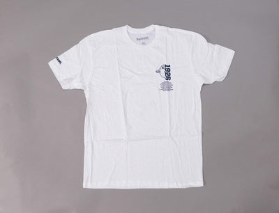 Paterson X Ebbets Field Flannels Ghost Town Tee White