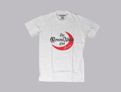 Crescent Athletic Club Tee White