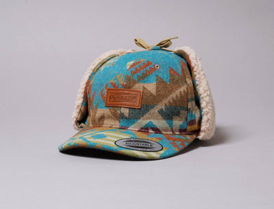 Cap Dogear Pendleton Timberline cap w/ flap Journey West Pendleton Dogear Cap / Multi / One Size