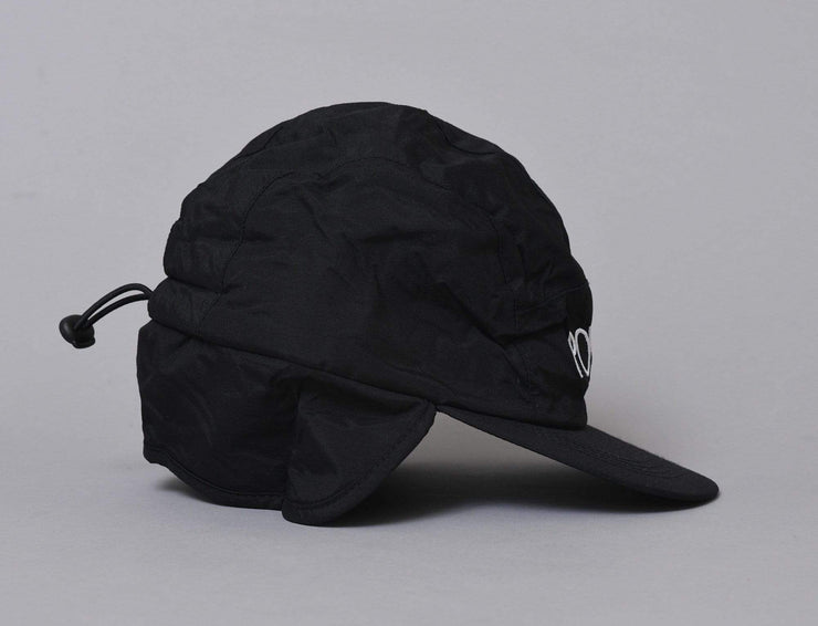 Cap Adjustable Polar Flap Cap Black Polar Adjustable Cap Cap / Black / One Size