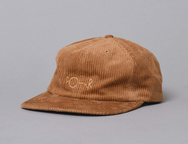 Corduroy Cap - Polar Tan Brown Cord