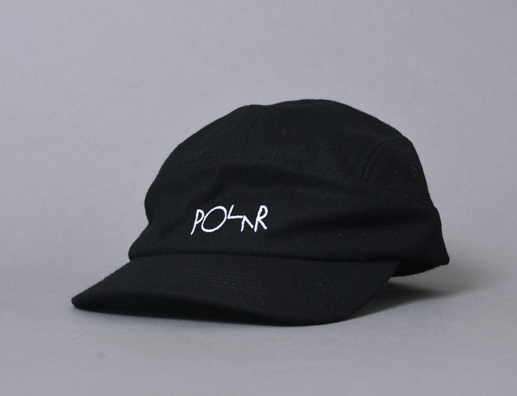 Polar Wool Speed Cap Black