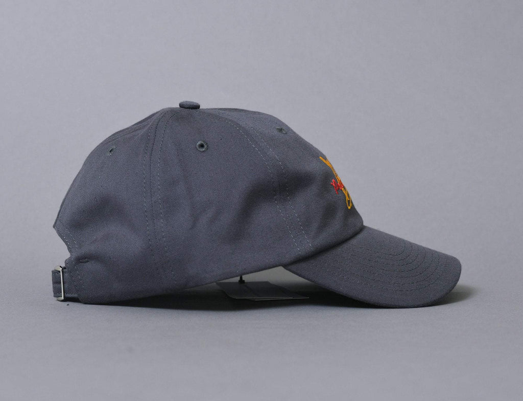 Polar Skate Club Cap Graphite Grey