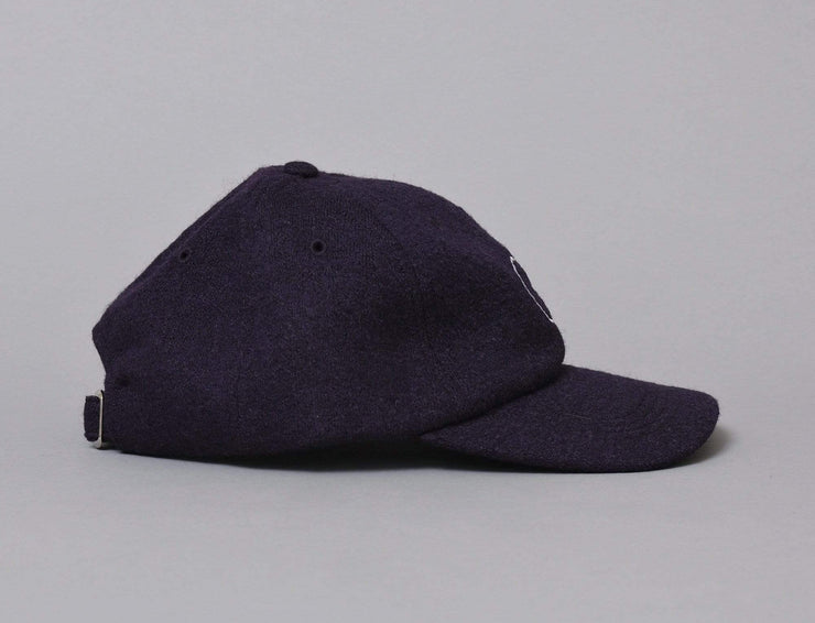 Polar Boiled Wool Cap Plum