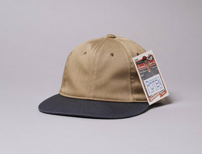 Cap Adjustable Poten Chino Cap Beige/Black Poten Adjustable Cap / Beige / One Size